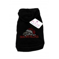 Diamante Santas Little Helper Hoody